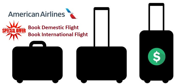 American Airlines baggage offers