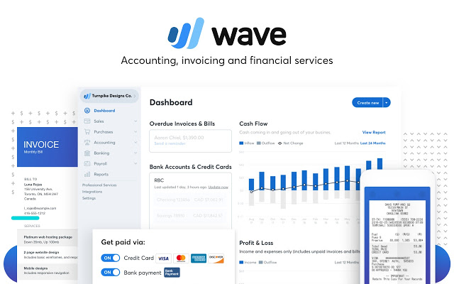 Wave accounting customer service