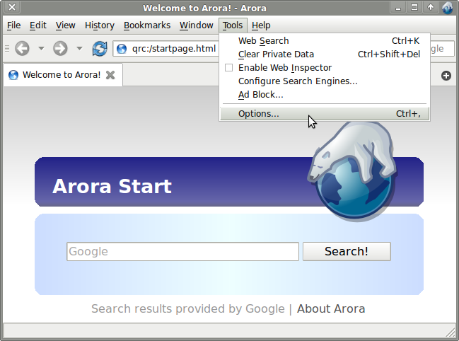 Arora-Browser customer service Phone Number