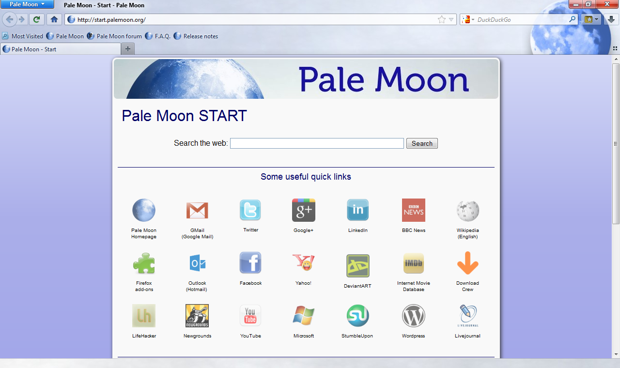Pale-Moon Browser customer service Phone Number