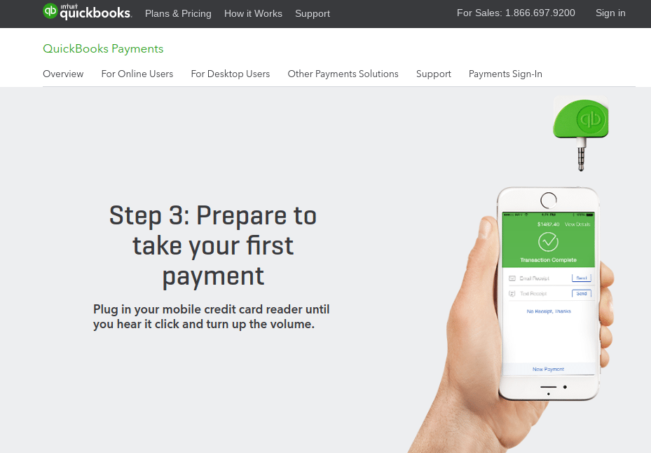 QuickBooks-GoPayment customer service Phone Number