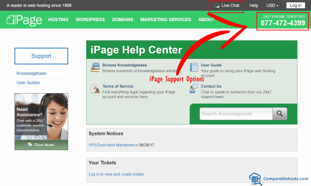 iPage customer service Phone Number