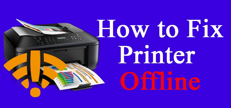 Fix Canon Printer Offline