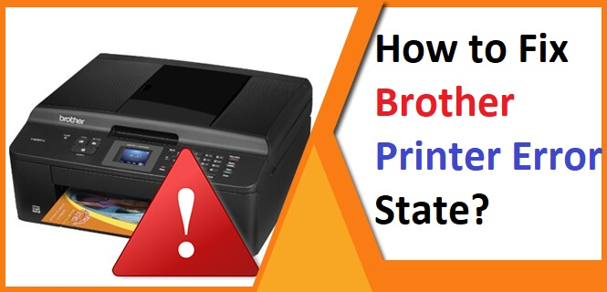 How to Fix Brother Printer Error State