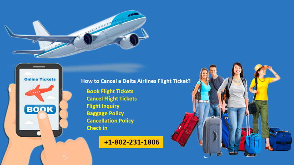 How to Cancel a Delta Airlines Flight Ticket?