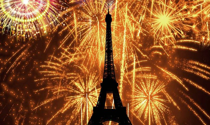 new year celebration in Paris