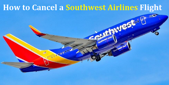 Cancel Southwest Airlines Flight