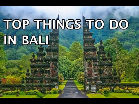 5 Most Intriguing Things to do in Bali