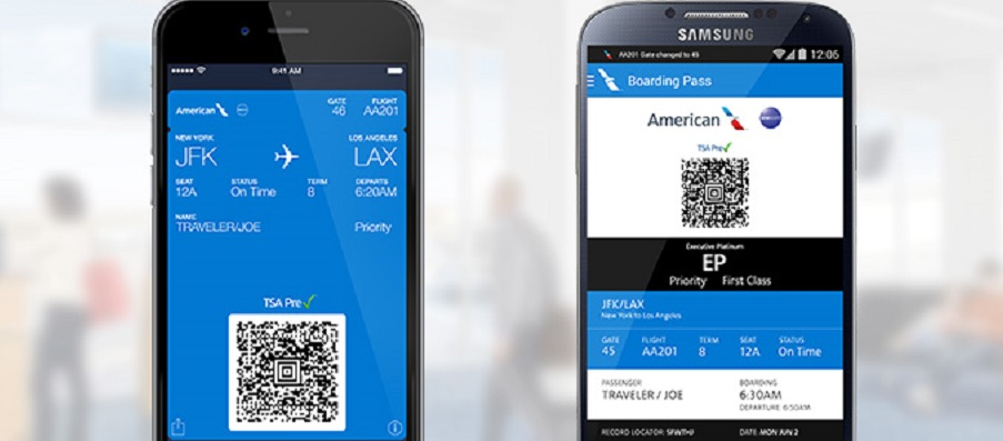 how to check in american airlines mobile app