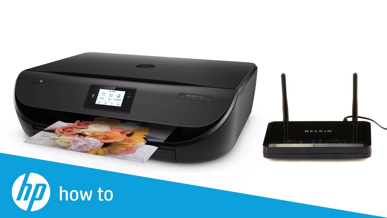 Connect HP Printer to Wireless Network