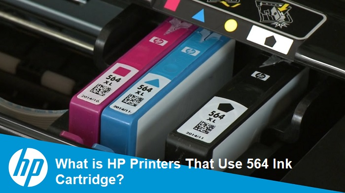What is HP Printers That Use 564 Ink Cartridge