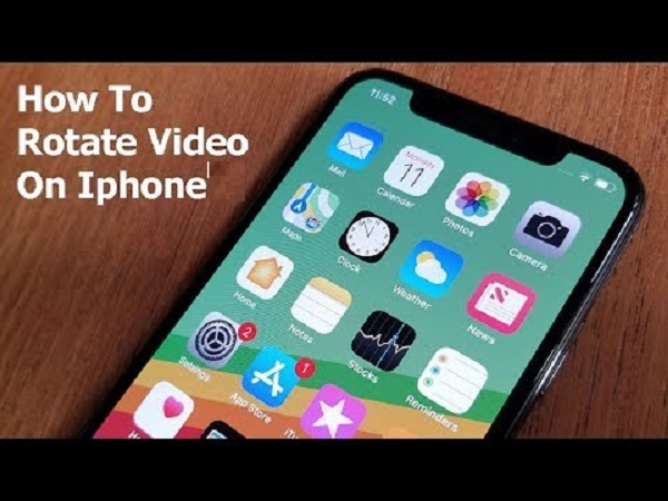 Rotate a Video on iPhone