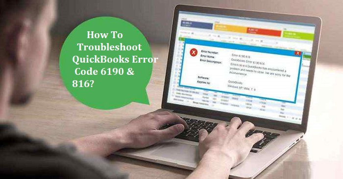 QuickBooks error code 6190 & 816