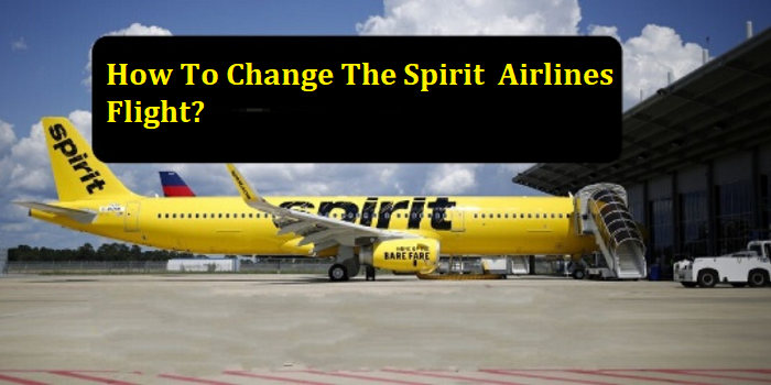 change Spirit Airlines flight
