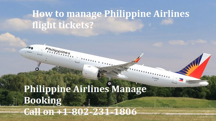 Philippine Airlines manage booking