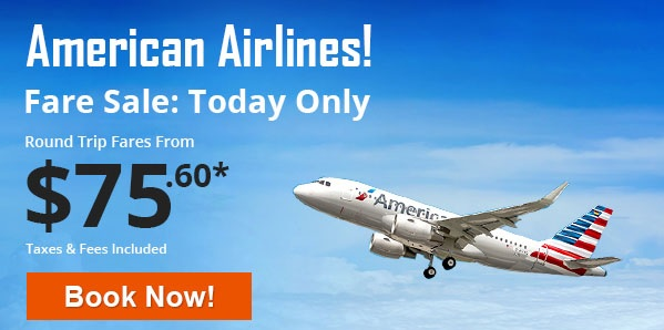 American Airlines Flight booking