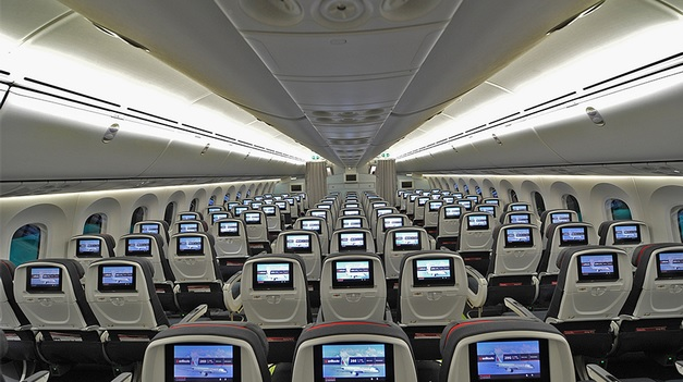 Air Canada Seat Selection