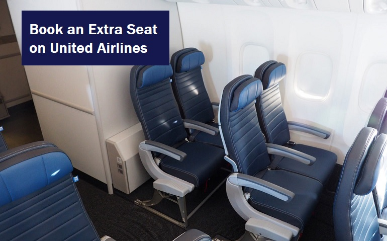 Book an Extra Seat on United Airlines