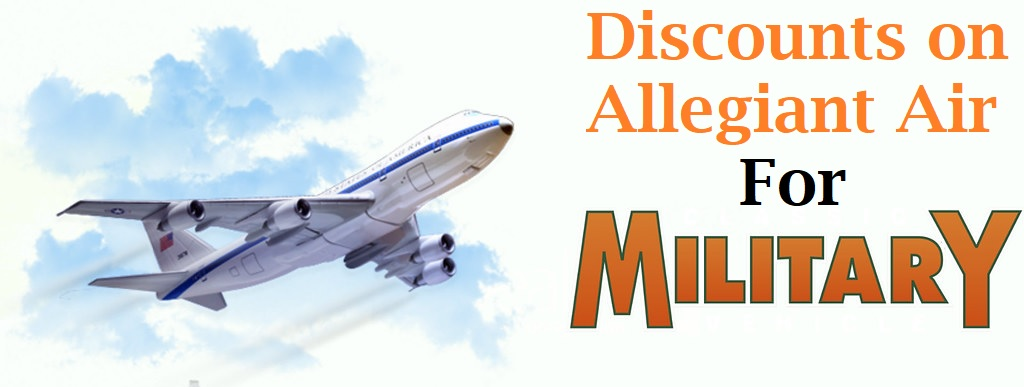 Military Discount on Allegiant Air