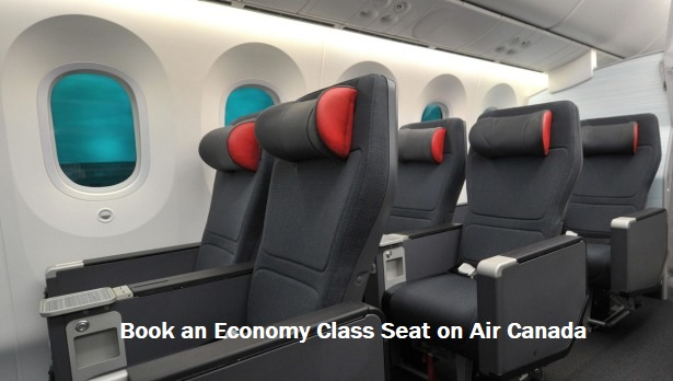 Book Economy Class Seat on Air Canada