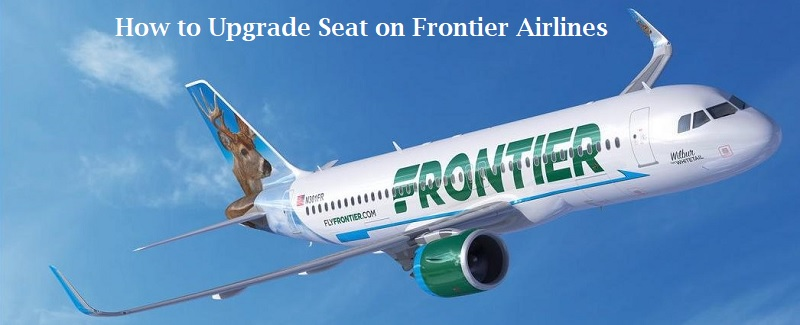 Frontier Airlines Seat Upgrade