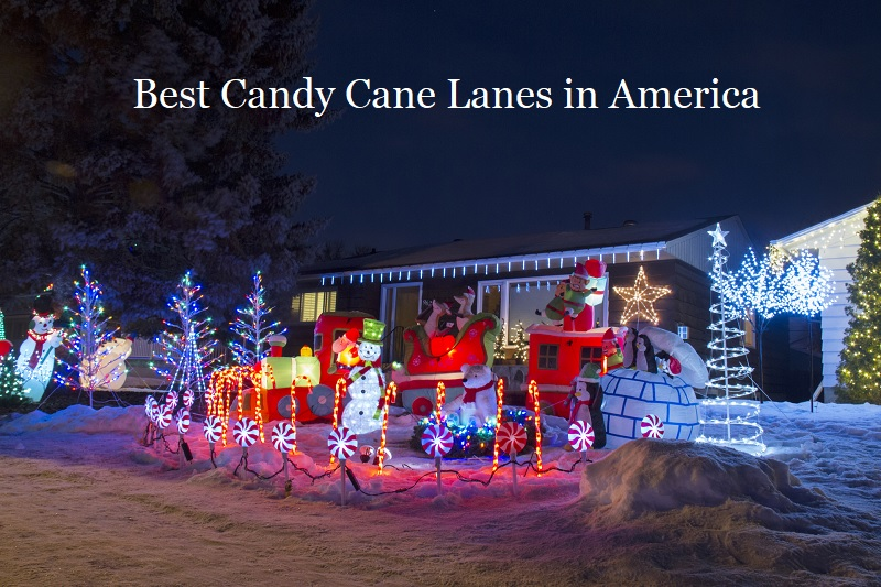 Best Candy Cane Lanes in America